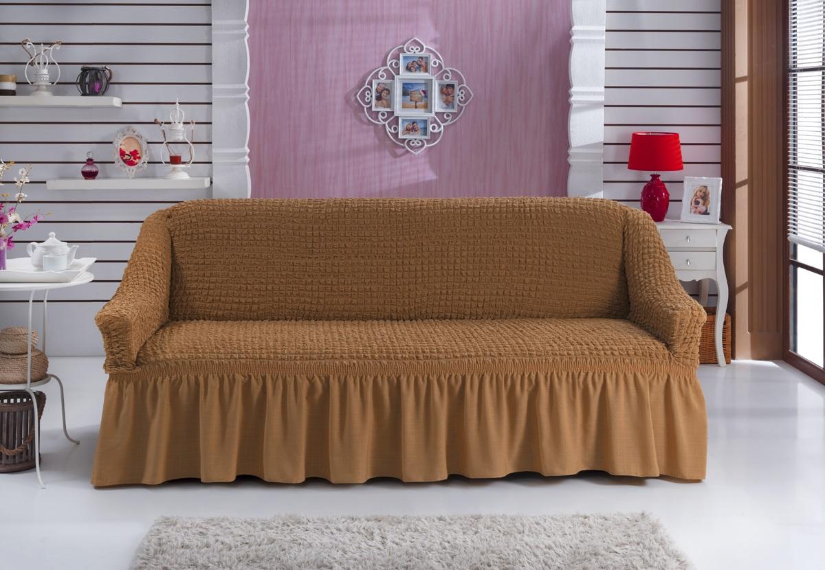 Чехол на мебель на резинке на диван